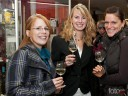 Drei bezaubernde Württemberger Hoheiten, v.l. Weinprinzessin Sandra Weber, Weinkönigin Juliane Nägele und Miriam Heckel, Weinkönigin 2007.