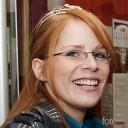 Württembergs Weinprinzessin 2010 Sandra Weber hatte viel Spass an ihrem ersten Auftritt.