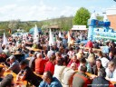 Brackenheimer Weinfrühling: Treffpunkt war bei schönstem Wetter für alle im Hofe der Weingärtner Brackenheim