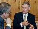 Bundespräsident Horst Köhler: Demokratie ist keine Glücksversicherung.