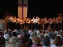 Brackenheim: Der Bezirksposaunenchor umrahmte musikalisch den Abschiedsempfang.
