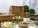 Grill und Chill in Willsbach: Zwischen Brot, Salat und Spätzle mein Star des Abends, der Lemberger Blanc de Noir 2009.